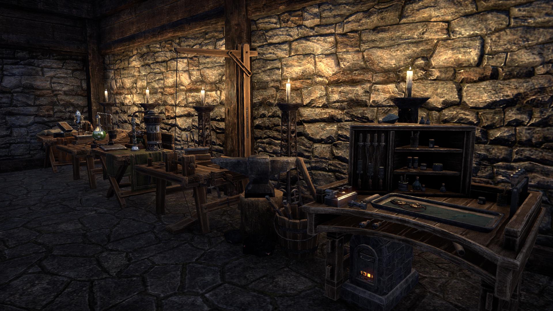 Gardner House - workshop
