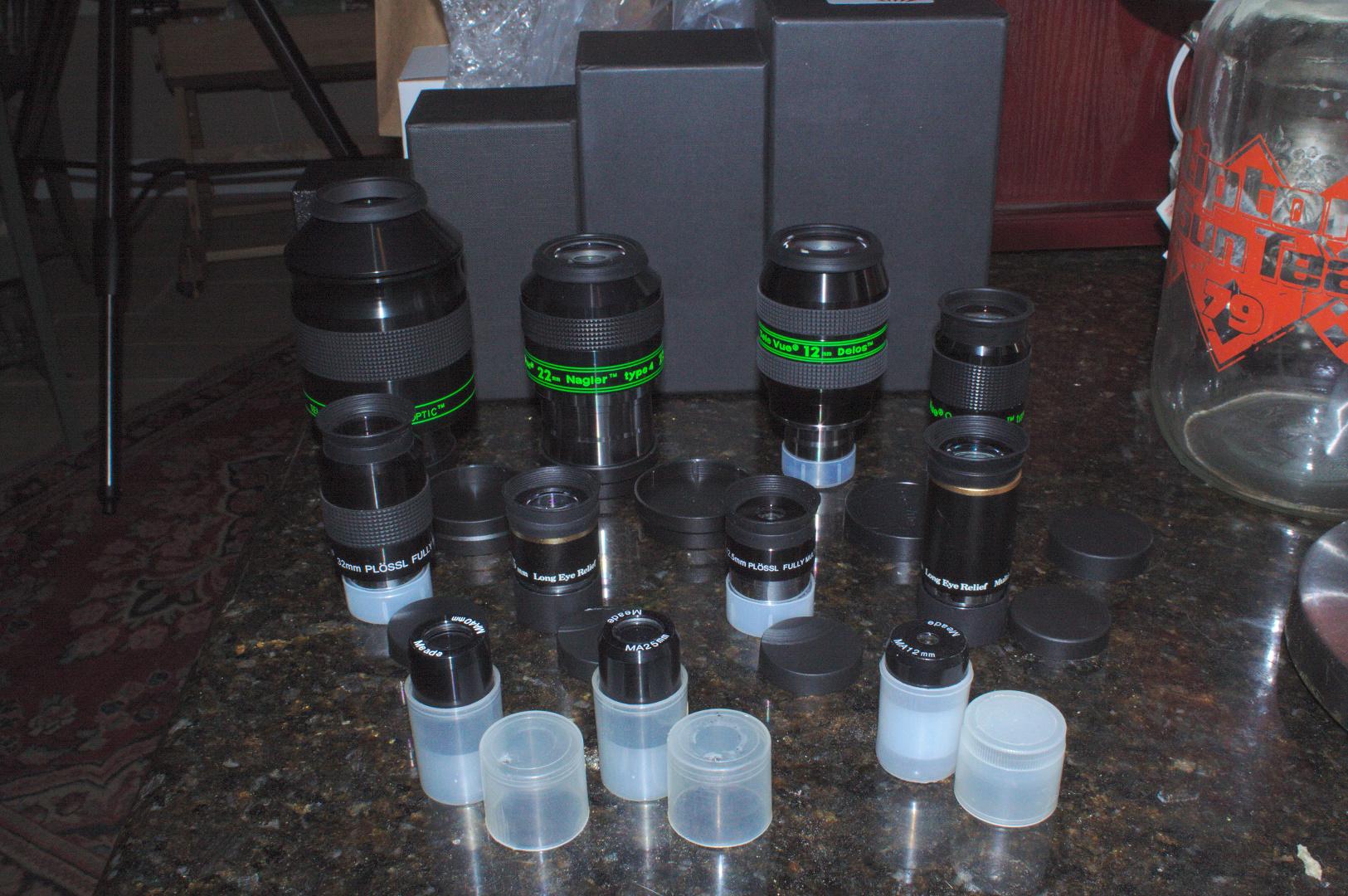 Telescope eyepieces